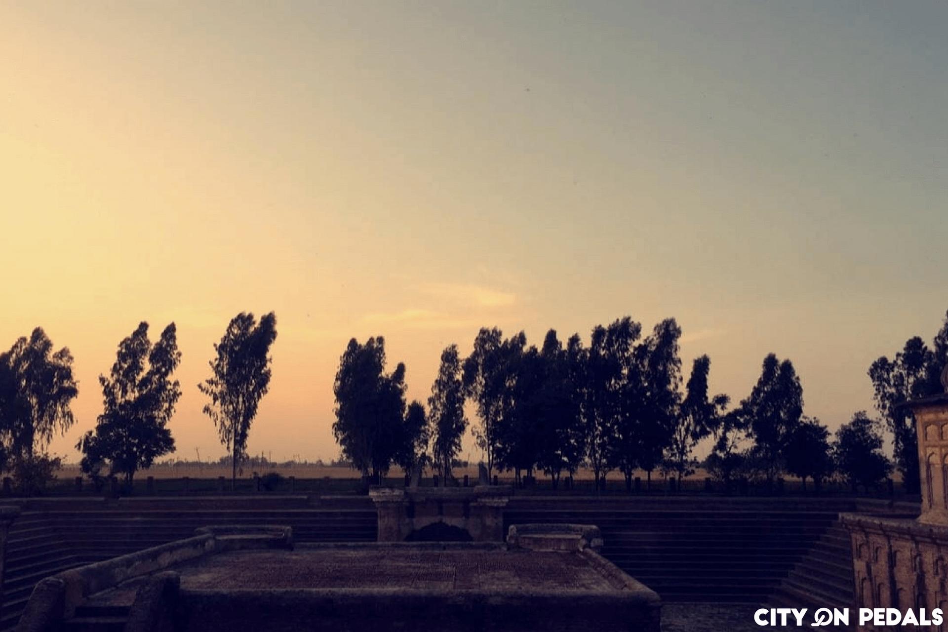 Sunset at Pul Kanjari