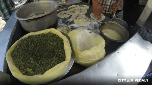 Experience the process of Kulcha making in our Amritsar Heritage Bicycle Tour
