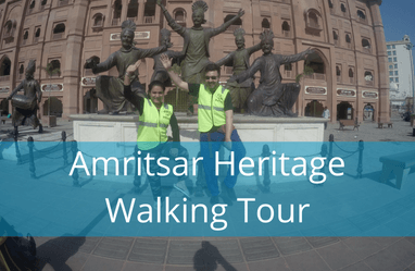 Amritsar Heritage Walking Tour - Walk with our story tellers through heritage path and explore the hidden details