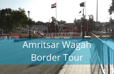 Amritsar Wagah Border Tour - enjoy the wagah border ceremony with a good view
