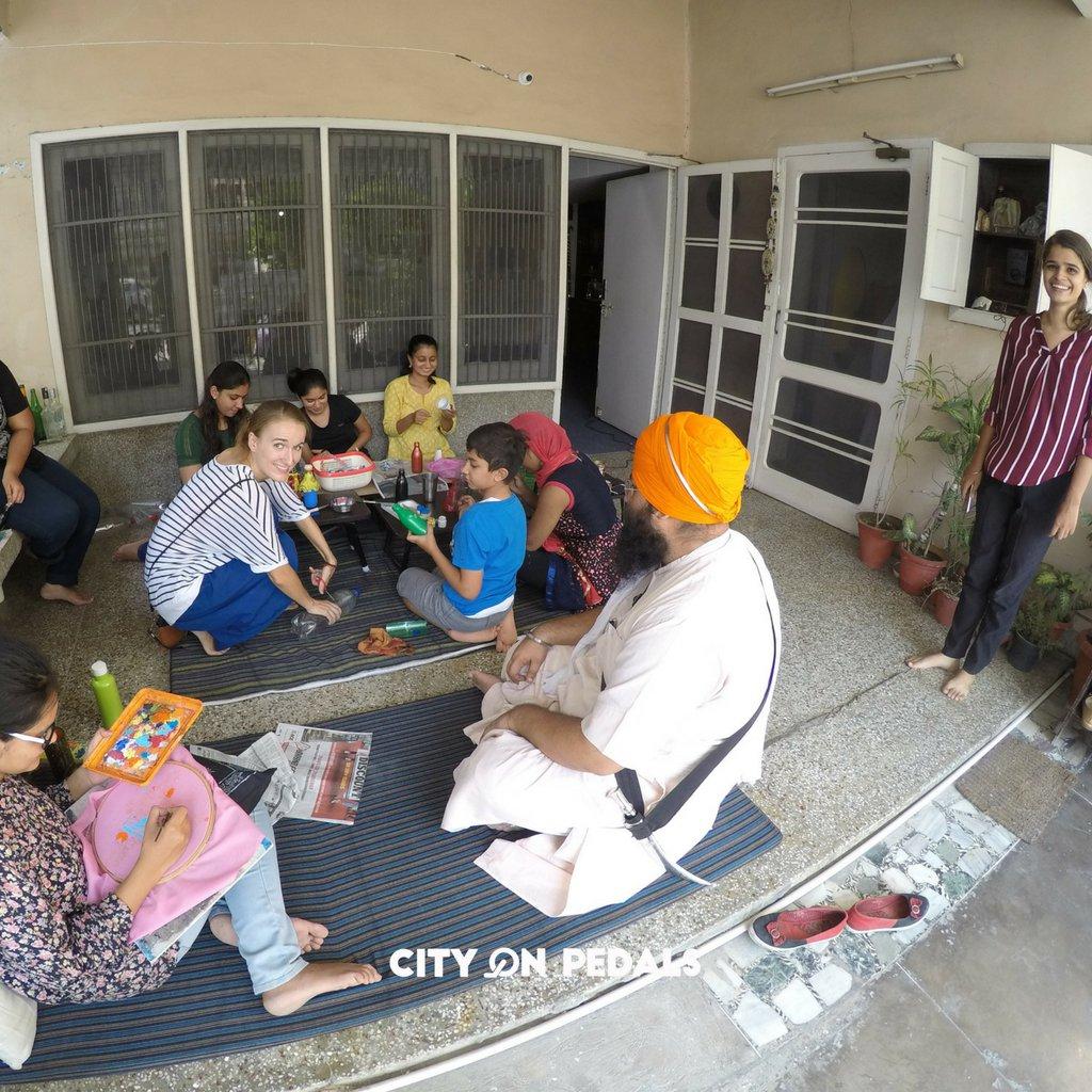 Amritsar DIY Workshop in the hostel