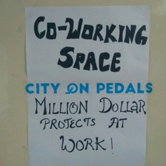 Co-working space at City On Pedals