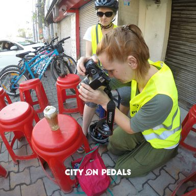 Vlogging and micro blogging about City On Pedals and Amritsar