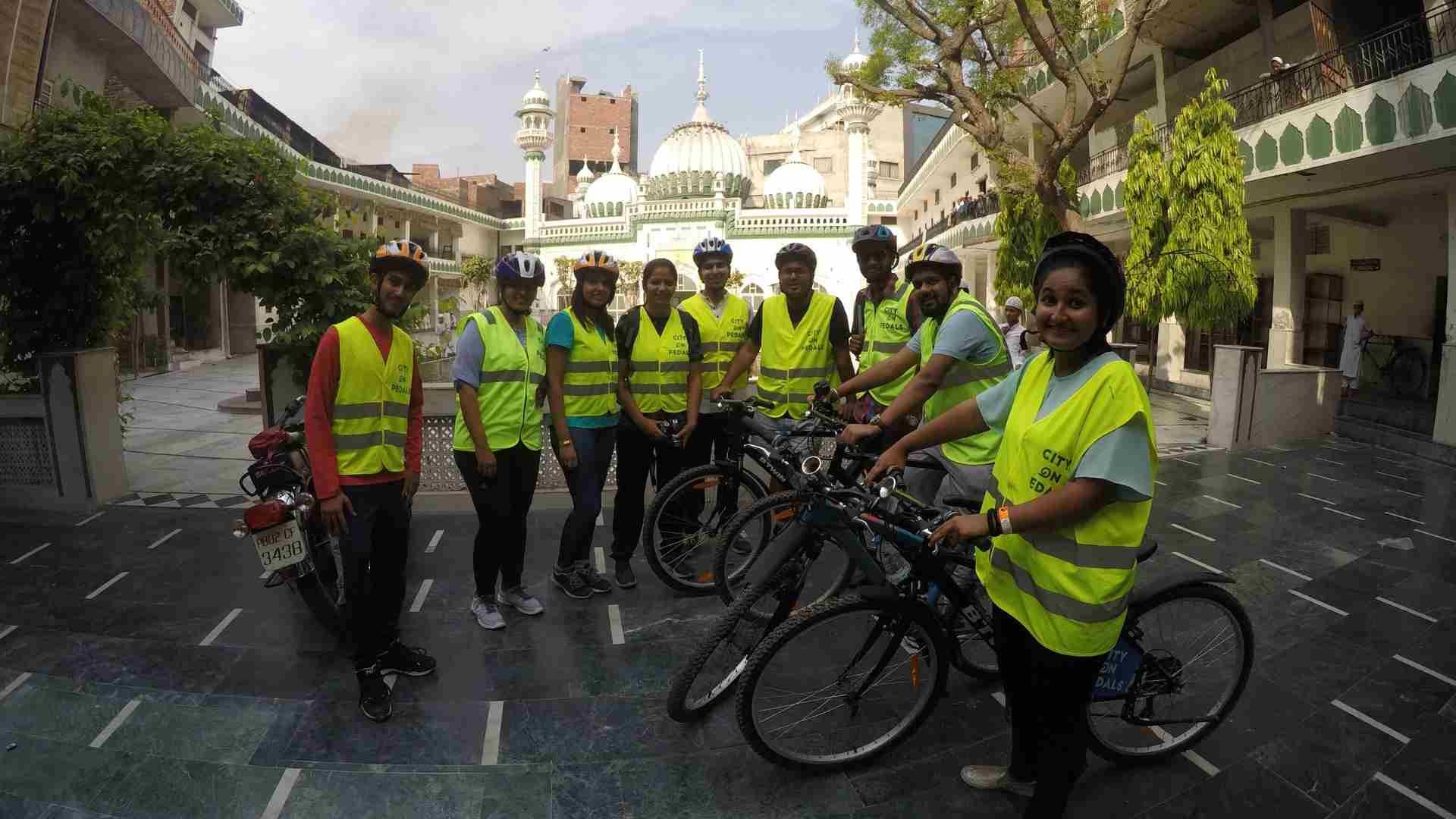Stay On Skill Gang on our Amritsar Heritage Bicycle Tour