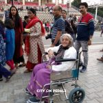 Wheelchair option available on our Amritsar Wagah Border Tour