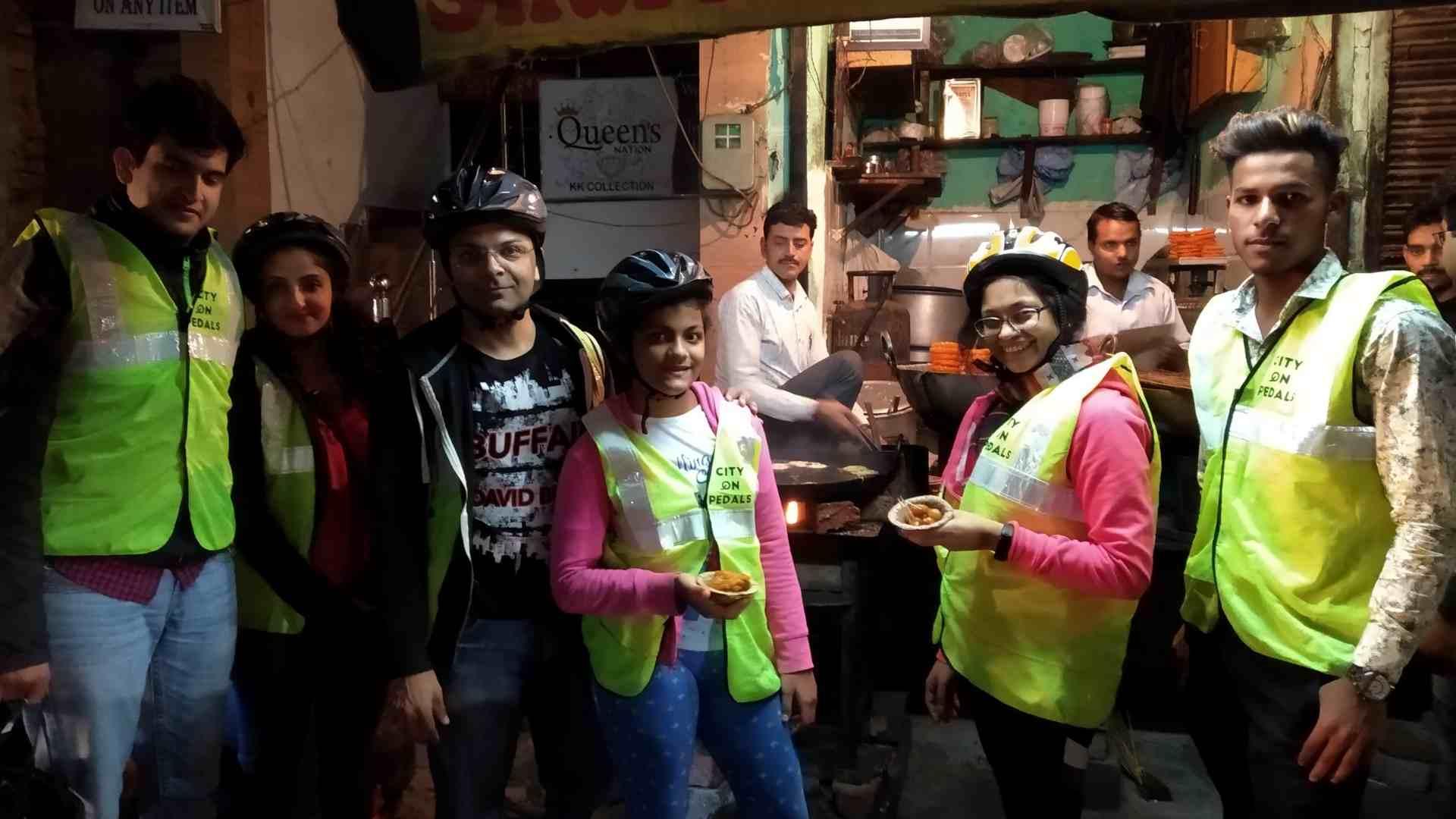 Jalebi at the famous Sharma Sweets