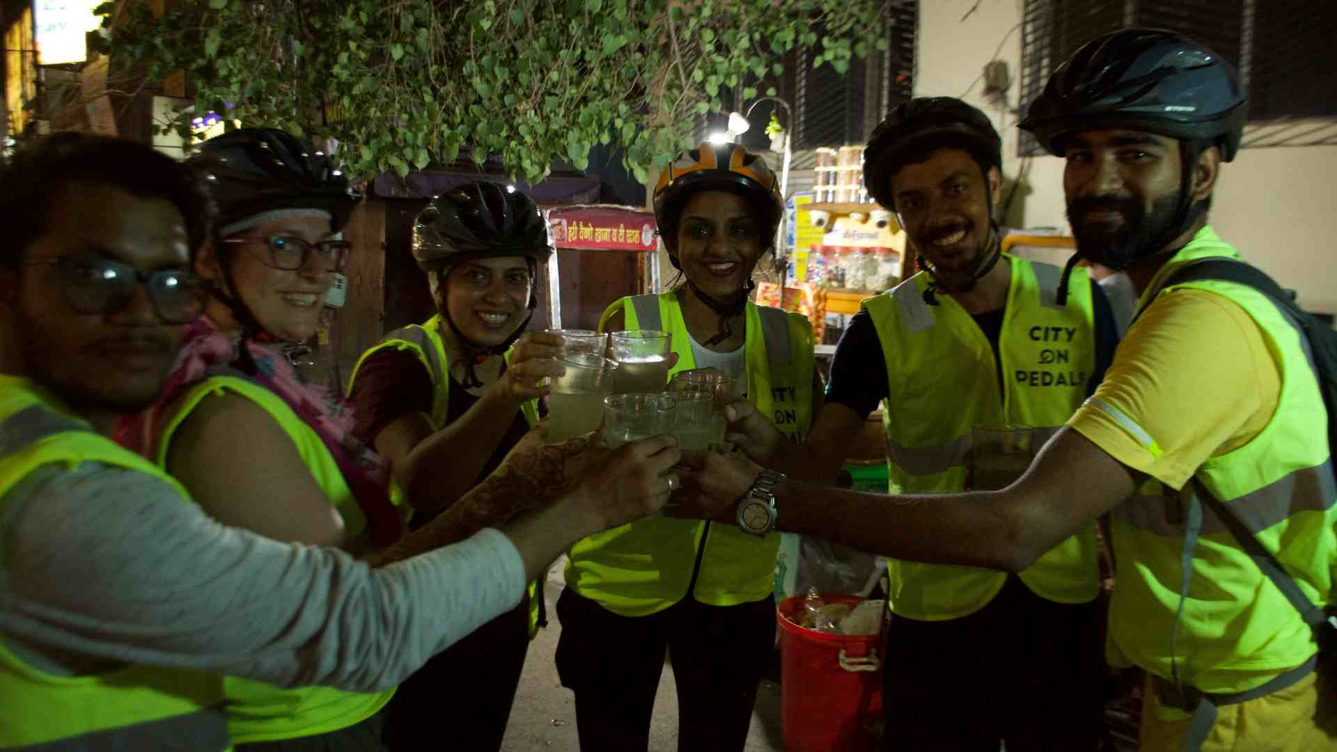 Lemon Soda in summers is part of the Amritsar Street Food Bicycle Tour