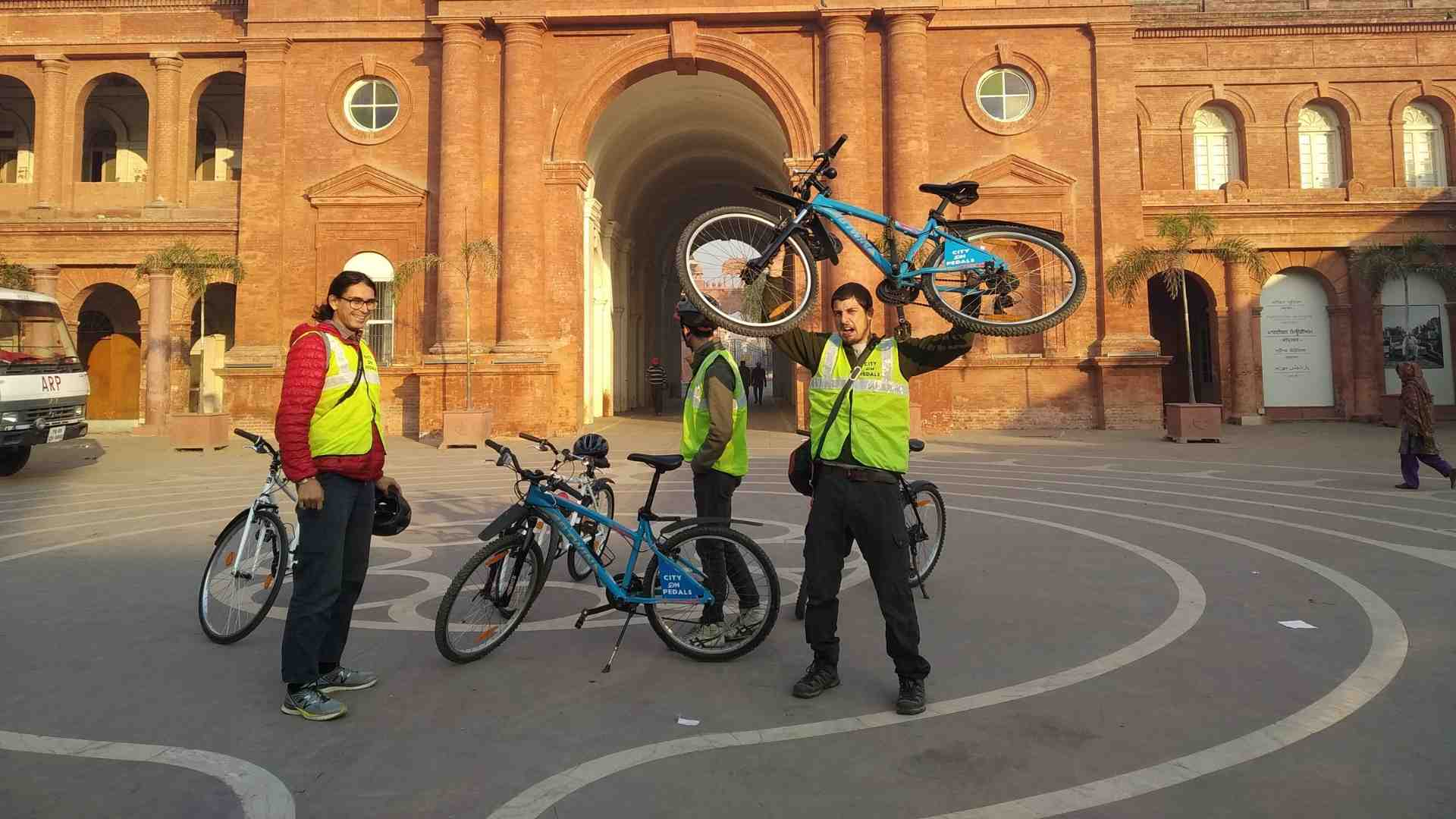 Never miss a chance to be crazy and have fun with our bicycle tour in Amritsar