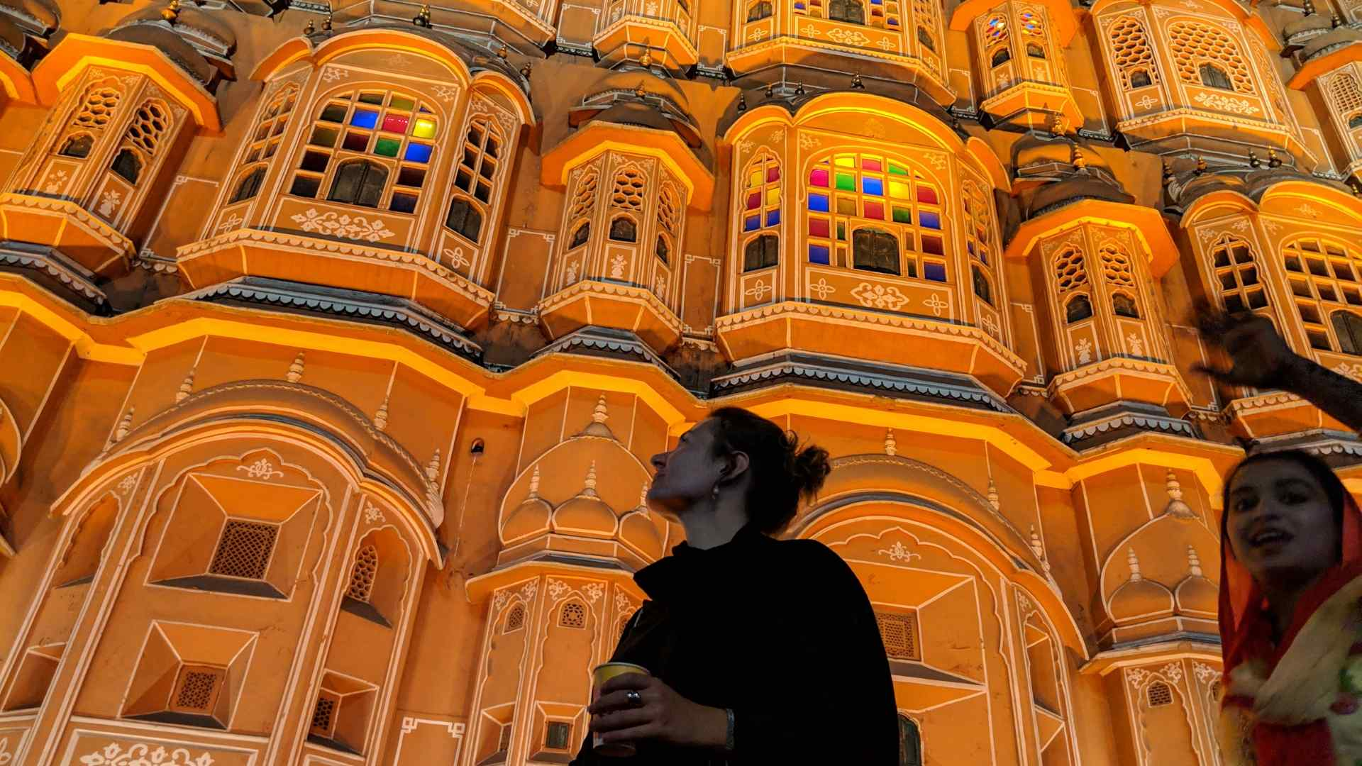 Below Hawa Mahal