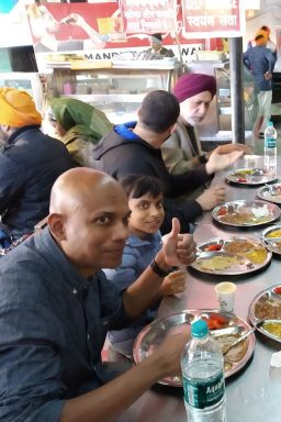 Breakfast on Amritsar Heritage Walking Tour