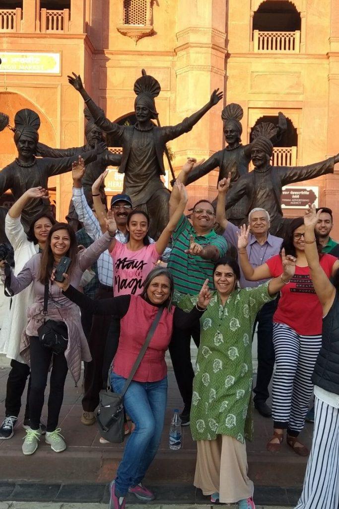 Heritage street fun on Amritsar Heritage Walking Tour