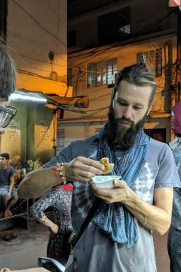 Hing Kachori on our Jaipur Street Food Walking Tour