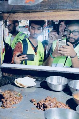 Nutri Kulcha on the street food tour