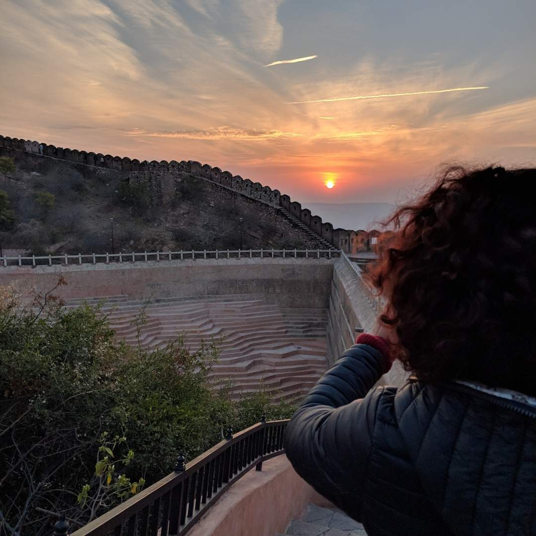 Sunrise at Nahargarh Fort Jaipur
