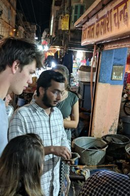 Tasting traditional sweets on the streets of Jaipur with City On Pedals Food Walk