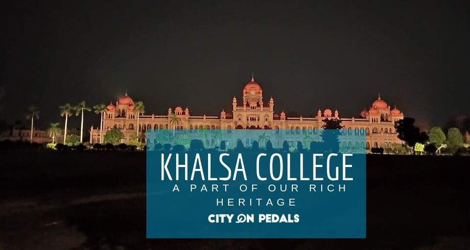 Blog cover Khalsa College