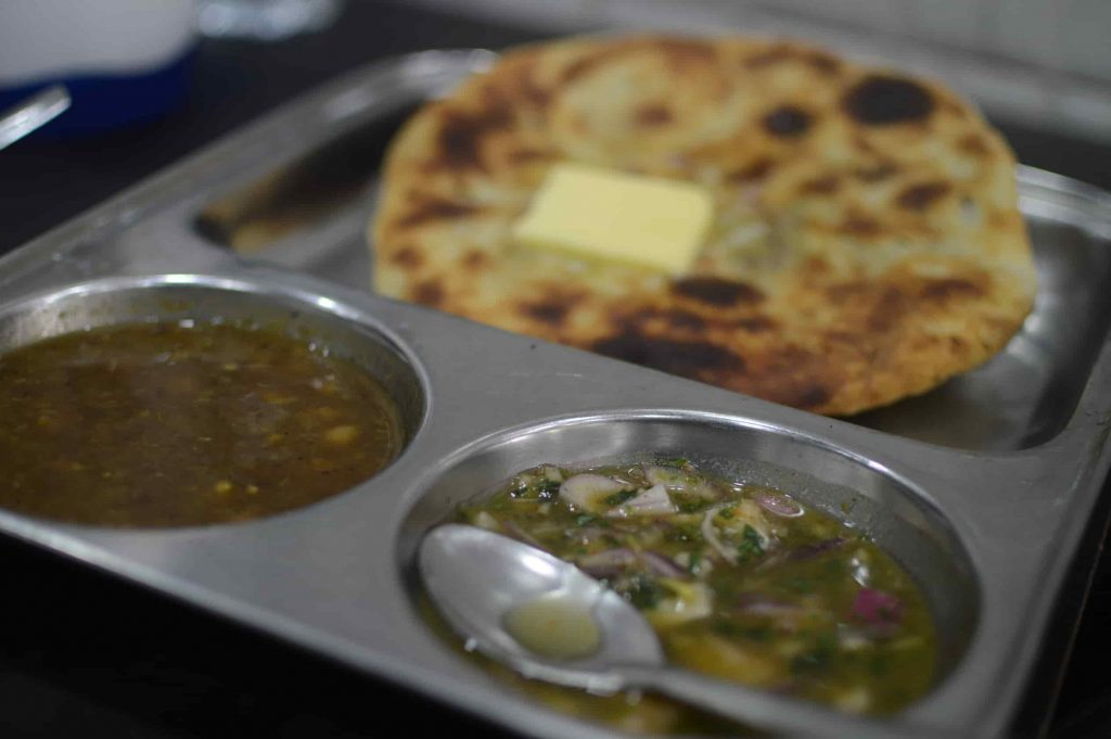 "Aloo Kulcha - ""The Patriotic Breakfast"" of Amritsari's"