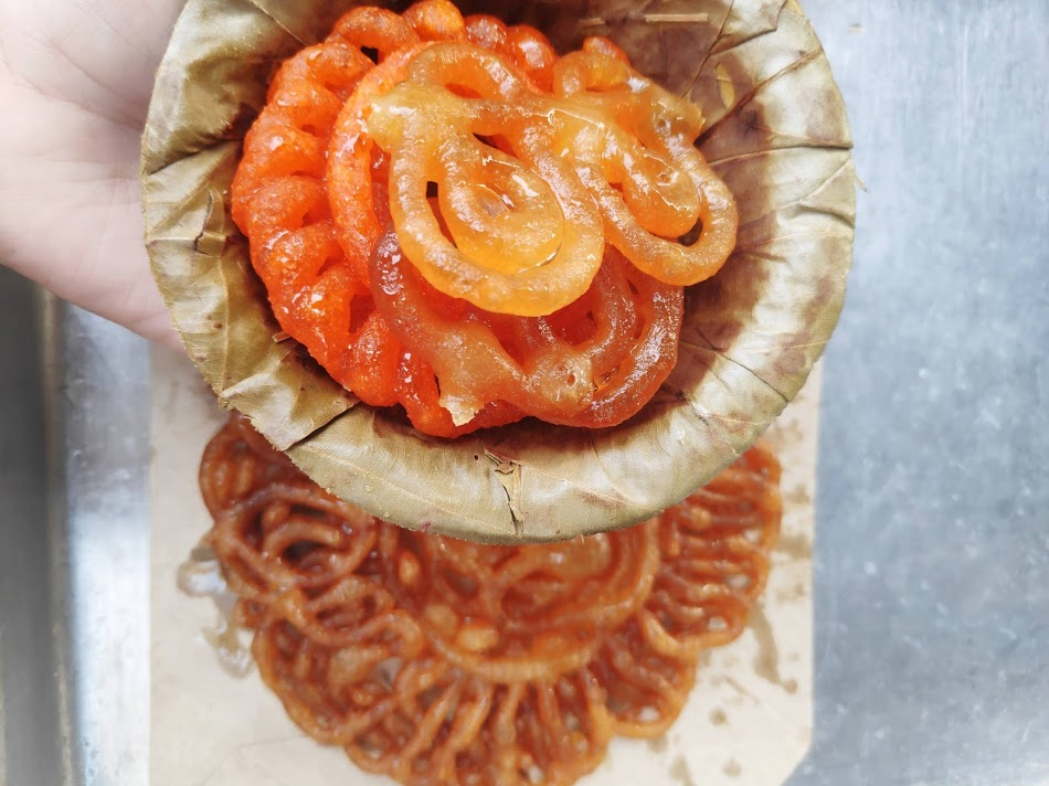 Jalebi - A Childhood Sweet Dish