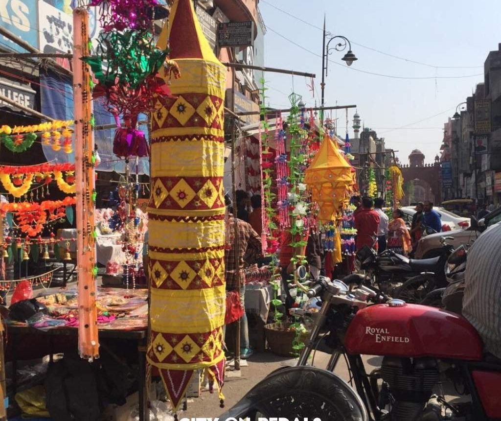 Festive season in Amritsar Bazaars