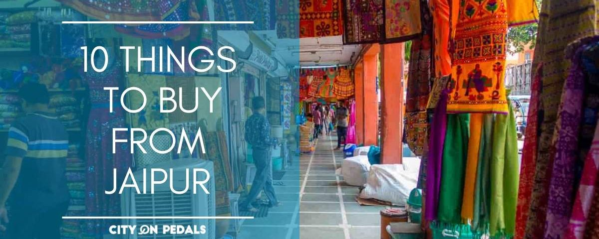 Blog Featured Image of 10 things to buy in Jaipur