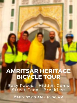 Amritsar Heritage Bicycle Tour
