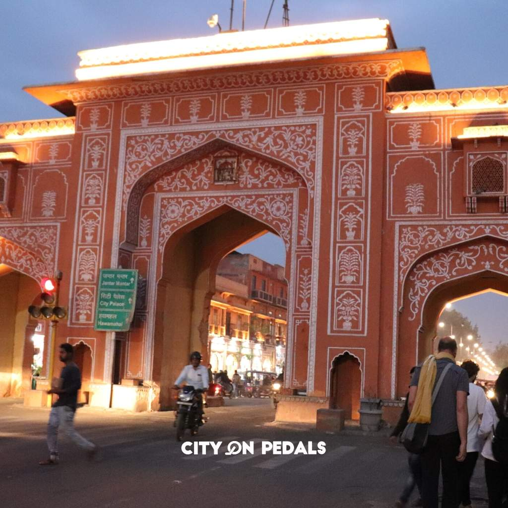 Jaipur The Walled City