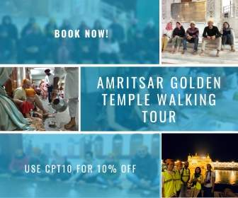 Amritsar Golden Temple Walking Tour