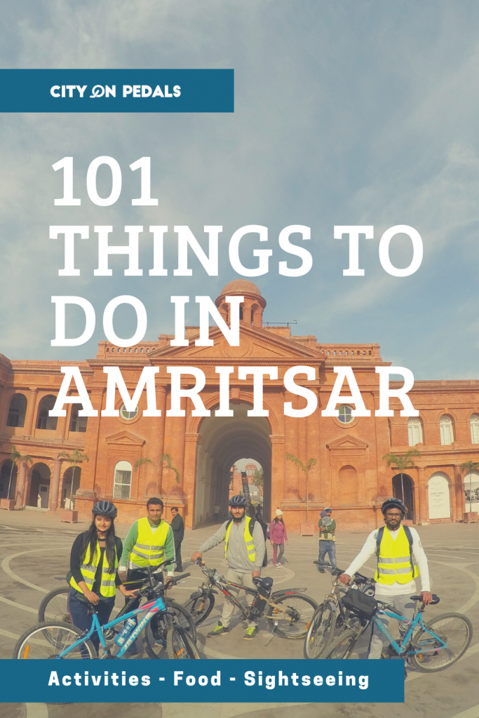 101 things to do in Amritsar