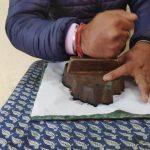 Block Printing in Varanasi