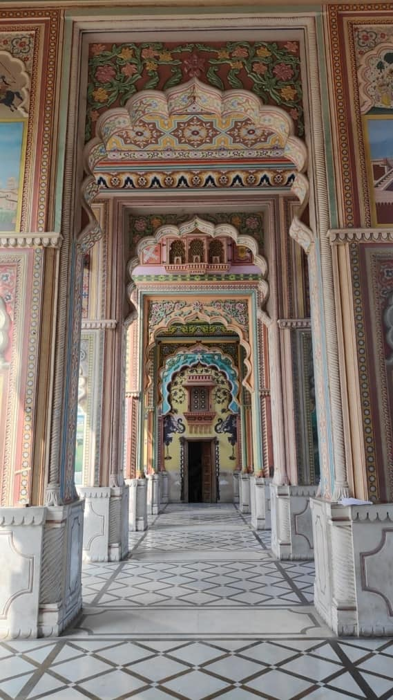 Old monument in Varanasi