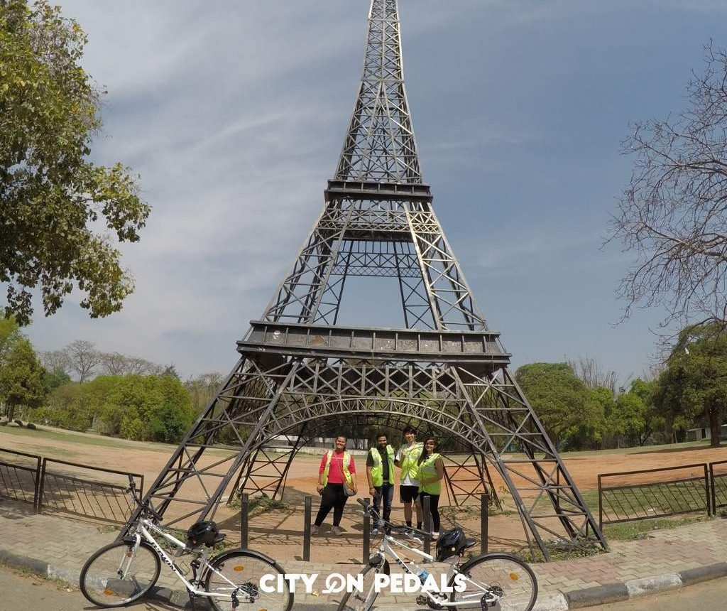 Chandigarh Heritage Bicycle Tour_ifel-tower