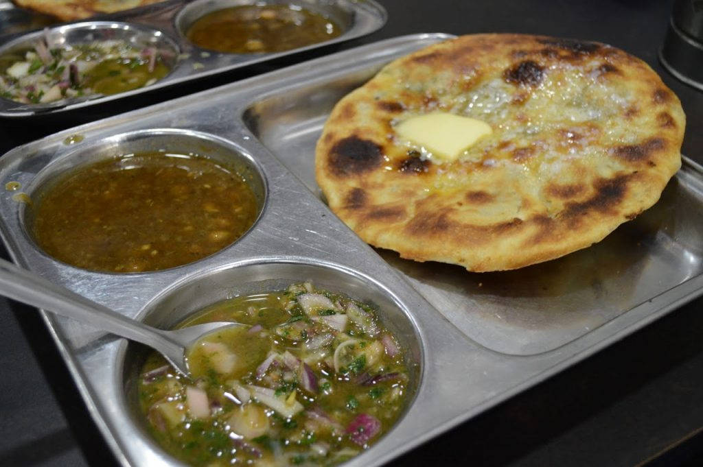 Aloo Kulcha - Traditional breakfast of Amritsar City