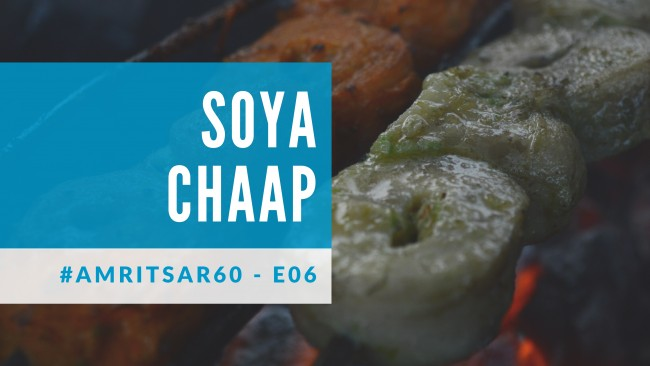 blog cover for Soya Chaap