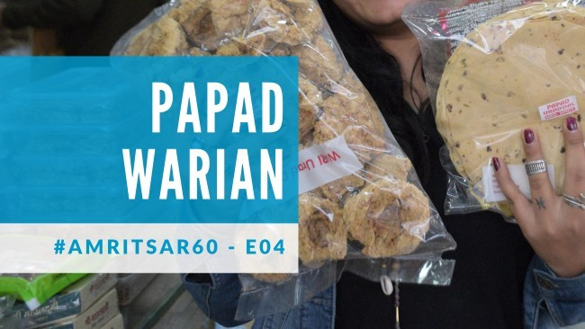 cover for Papad Warian blog