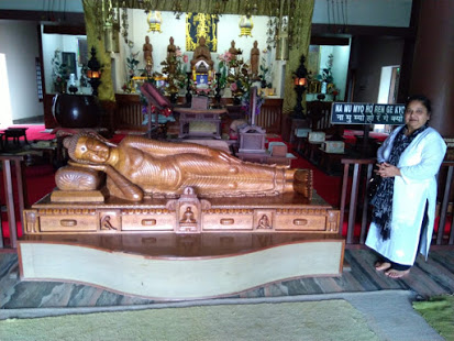 Sleeping Idol of Lord Buddha
