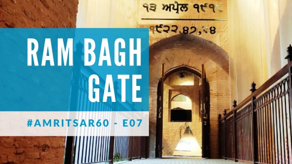 Cover photo for Ram Bagh Gate