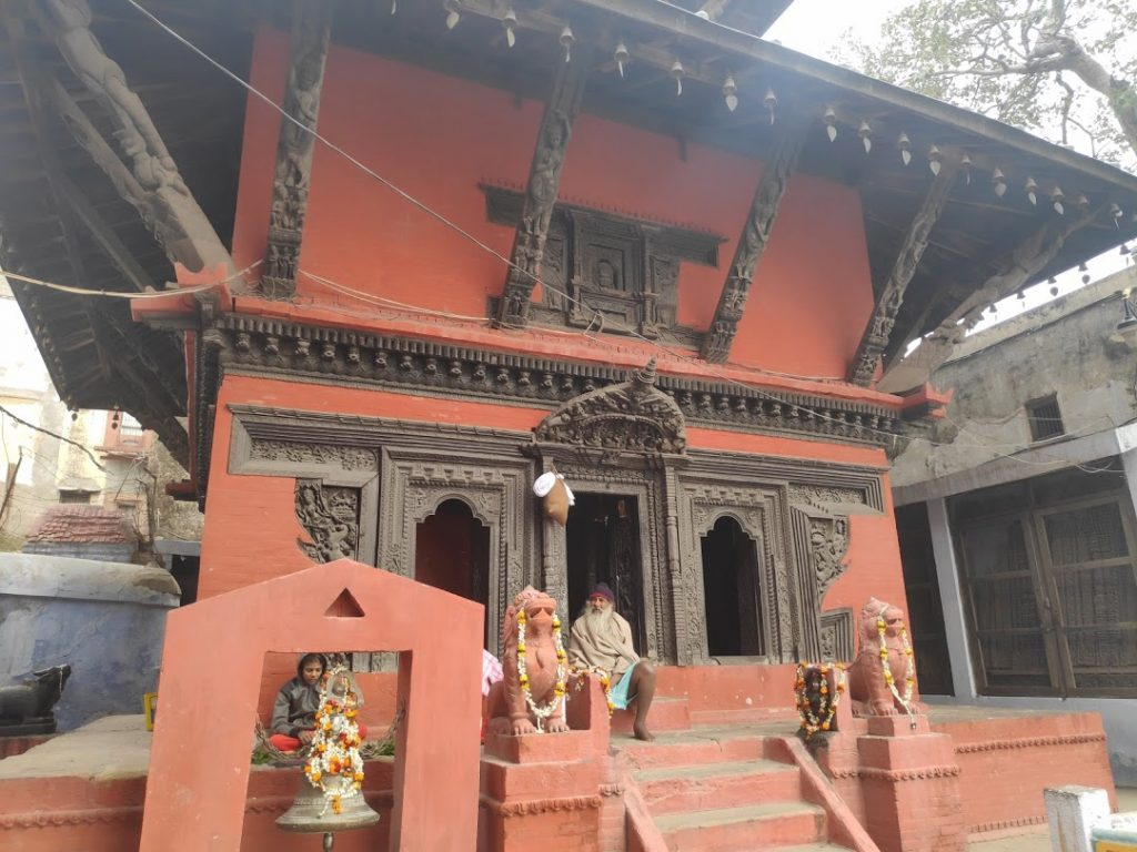 Ancient temple of kashi