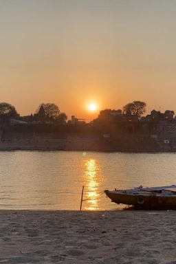 Sunset in Ganga