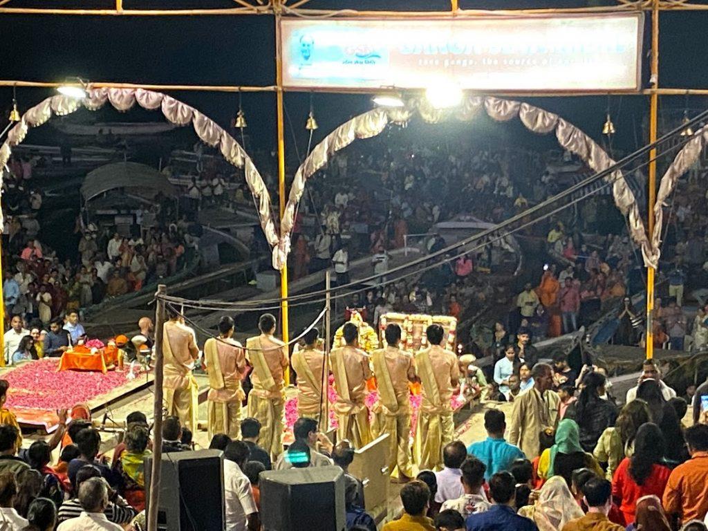 Aarti at Ganga Ghat