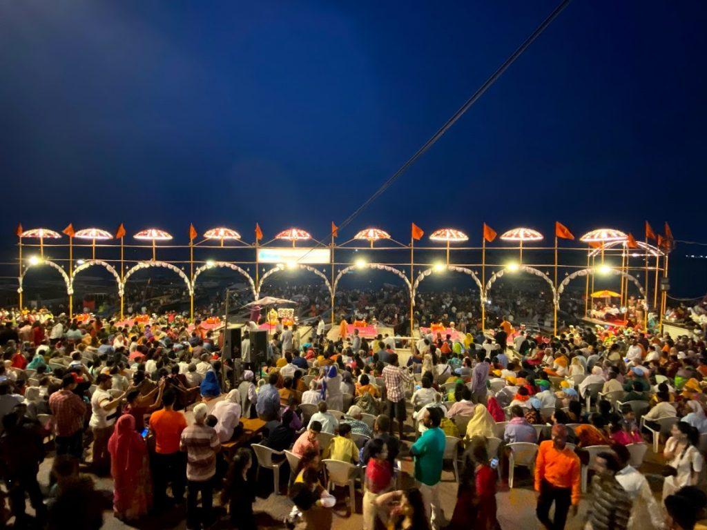 Dashshwamedha Ghat during Aarti